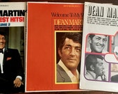 Dean Martin Houston, Greatest Hits Vol 2, Welcome To My World Vinyl LP Record Lot of 3