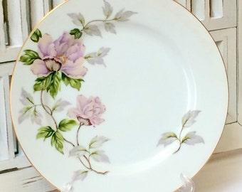 Dinner Plate Seyei Fine China Peony Pattern Table Setting #2104