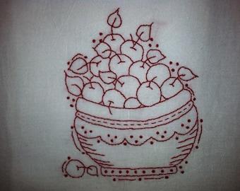 Bowl Full of Cherries Pattern