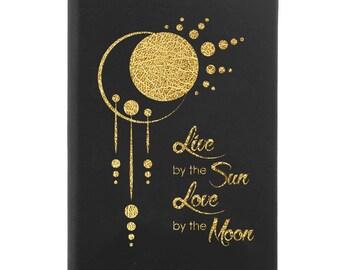 Leather Journal-Sun & Moon 31685