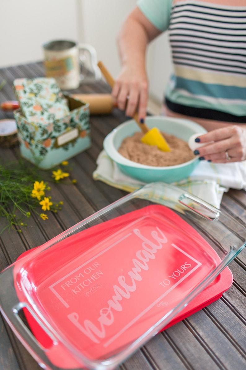 /& Mrs. Pyrex Baking Dish Mr