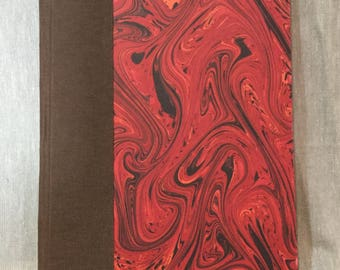 Marbled Red Chapbook