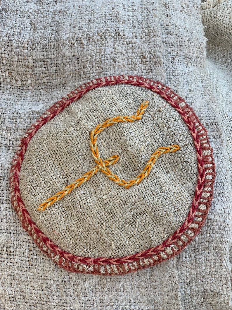 Handstitched Baba Style Patch
