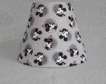 Mickey mouse lamp etsy minnie and mickey mouse lamp shade disney aloadofball Images