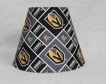 458948449c8 Las Vegas Golden Knights lamp shade. NHL