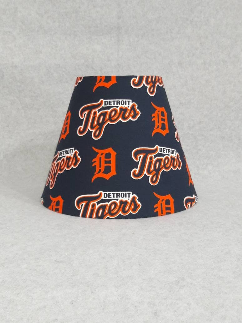 Detroit Tigers Lamp Shade Baseball Etsy