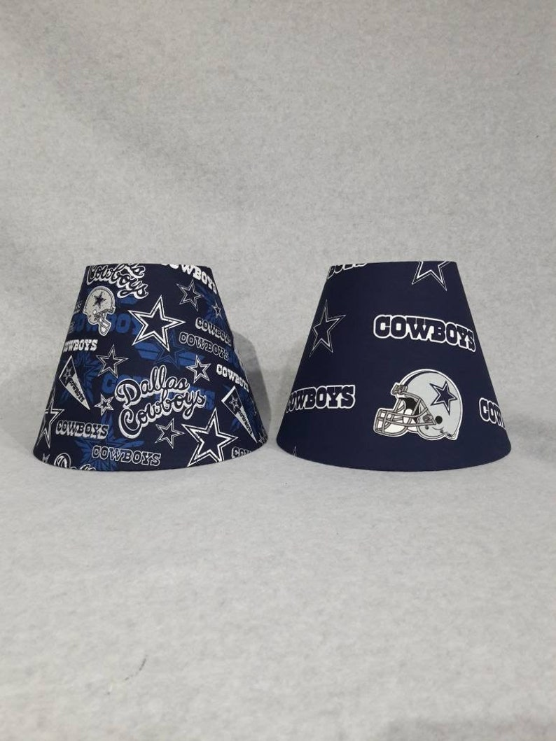 Dallas Cowboys Lamp Shade Nfl Choose The One You Would Like Shades Are 9 5 X 5 X 7 Tall