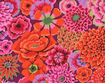 Kaffe Fassett ENCHANTED Rust PWGP172, Kaffe Fassett Fabric, Philip Jacobs, Free Spirit Fabric, Quilt Fabric, Cotton Fabric By The Yard