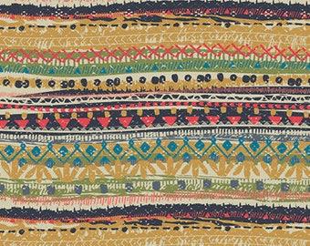 Trinket Vivid IFL-46304, INDIE FOLK Art Gallery Fabrics, Pat Bravo, Boho Decor, Baby Quilt, Cotton Fabric, Boho Nursery, Fabric By The Yard