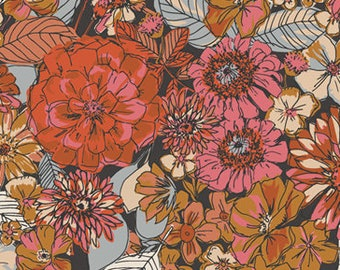 Art Gallery Kismet Fleuron Haven KSM-73300 Sharon Holland, Quilt Fabric, Cotton Fabric, Art Gallery Fabrics, Quilting, Fabric By The Yard