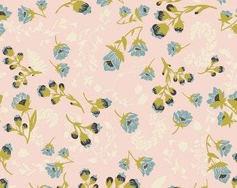KNIT FABRIC, Flourish Aglow K-47704, Art Gallery Fabrics, Cotton Spandex, Jersey Knit, Dress Fabric, Stretch Fabric, Fabric By The Yard