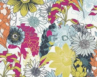 Abundant Meadow PLN-94500 POLLINATE Art Gallery Fabrics, Jessica Swift, Quilt Fabric, Cotton Fabric, Floral Fabric, Fabric By The Yard