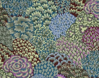 Kaffe Fassett Fabric ORIENTAL TREES Stone, Fabric By the Yard, Kaffe Fassett Collective, Free Spirit Fabrics, Quilt Fabric, Woodland Fabric
