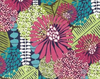 Amy Reber Posy PWAR002 Perfect Petal Julep Cotton Fabric By Yd