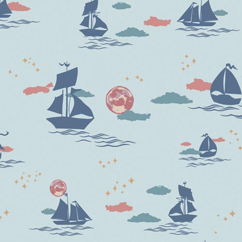 ENCHANTED VOYAGE Art Gallery Fabrics Offshore Dream Breeze image 0