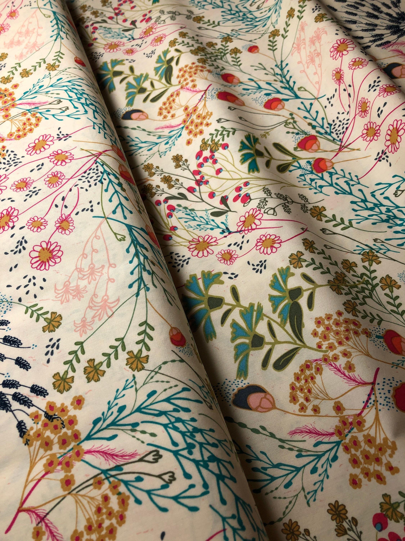 Indie Folk 100/% cotton IFL-46302 MEADOW DIM Pat Bravo for Art Gallery Fabrics