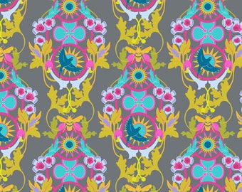 Rising in Graphite  A-8445-C   - SEVENTY Six by Alison Glass - Andover Fabrics  - By the Yard