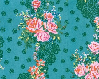 Krysta in Blue - HOTEL FREDERIKSTED - Jennifer Paganelli - Free Spirit Fabric - By the Yard