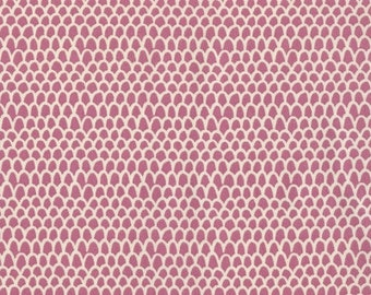 PIPER Scallop in Punch - DEAR STELLA Cotton Quilting Fabric (173)  1 yard