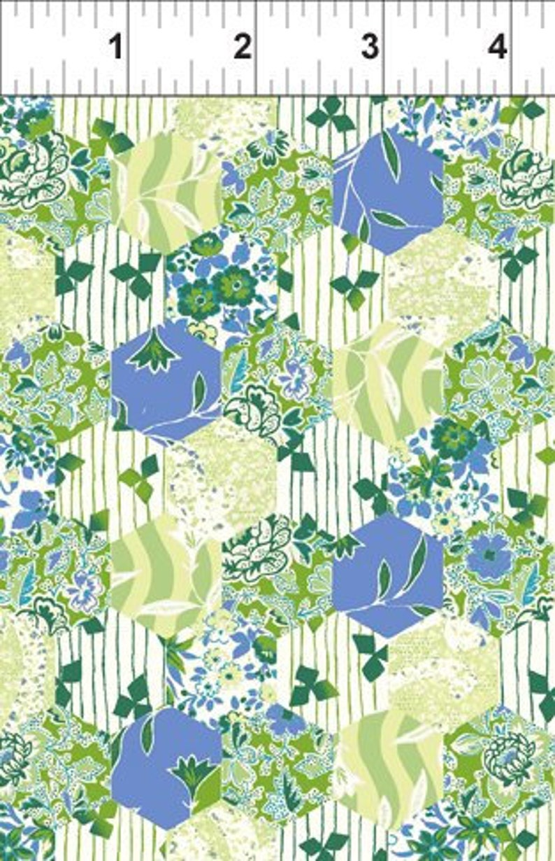 Garden Delights 7GSE-2 In the Beginning Fabric Shabby Chic image 0