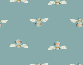 Bumble Buzz GRD-89904, Art Gallery Fabrics, GARDEN DREAMER, Quilt Fabric, Bee Fabric, Quilting Fabric, Cotton Fabric, Fabric By The Yard