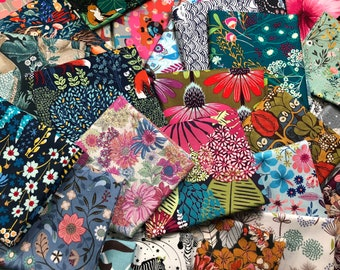 FAT QUARTER Bundle, Fabric Bundle Quilt Fabric Cotton Fabric, Fat Quarters, Quilting Fabric, Craft Fabric, Remnant, Fabric, You Choose Color