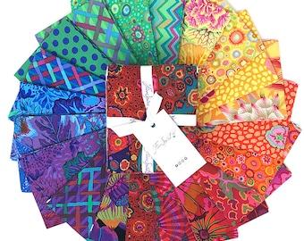 Kaffe Fassett PRISM Fat Quarter Bundle, Kaffe Fassett Classics, 20 Pc August 2021 Bundle, Quilt Fabric, Cotton Fabric, Quilting Fabric