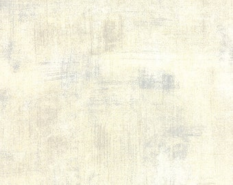 Grunge Basics CREME 30150-270, BasicGrey, Moda Fabrics, Natural Blender, Cotton Fabric, Quilt Fabric, Background , Fabric By the Yard