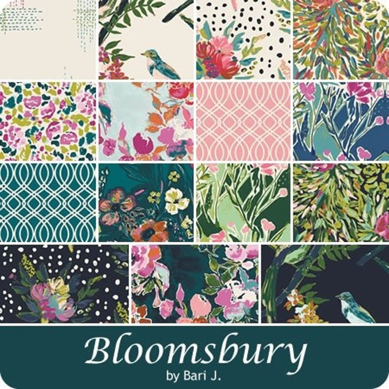 Art Gallery Fabrics Shabby Chic A Bloom of Ones Own BLB-44726 BLOOMSBURY Fabric By the Yard Floral Baby Girl Quilt Quilting Bari J