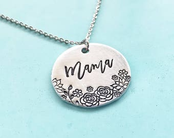 Mama Necklace, Mama Jewelry, Mothers Day Gifts, Gifts For Mom, Mom Jewelry, Mom Necklace, Mother Jewelry, Mother Necklace