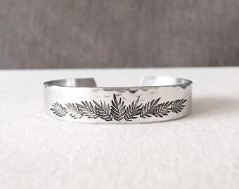 Palm Leaf Bracelet, Palm Tree Jewelry, Plant Lady, Nature Jewelry, Nature Bracelet, Nature Lover Gift, Plant Lover Gift, Plant Jewelry