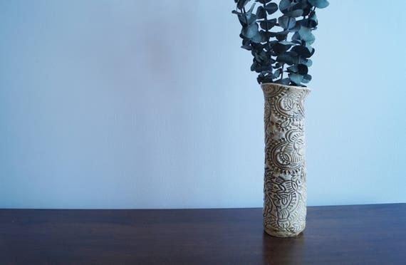 Aztec Rustic Vase Etsy