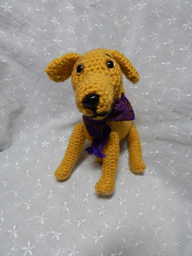 Labrador Hund Amigurumi Häkelanleitung Muster gehäkelt Welpen | Etsy