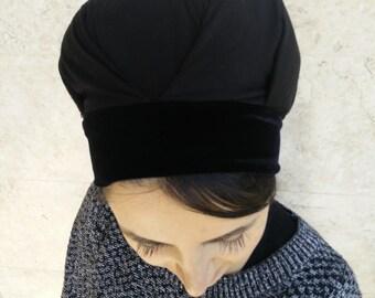 adjustable volumizer,jewish head covering,hair snood,hair cover,white or black, bun cover,snood,by oshratDesignz