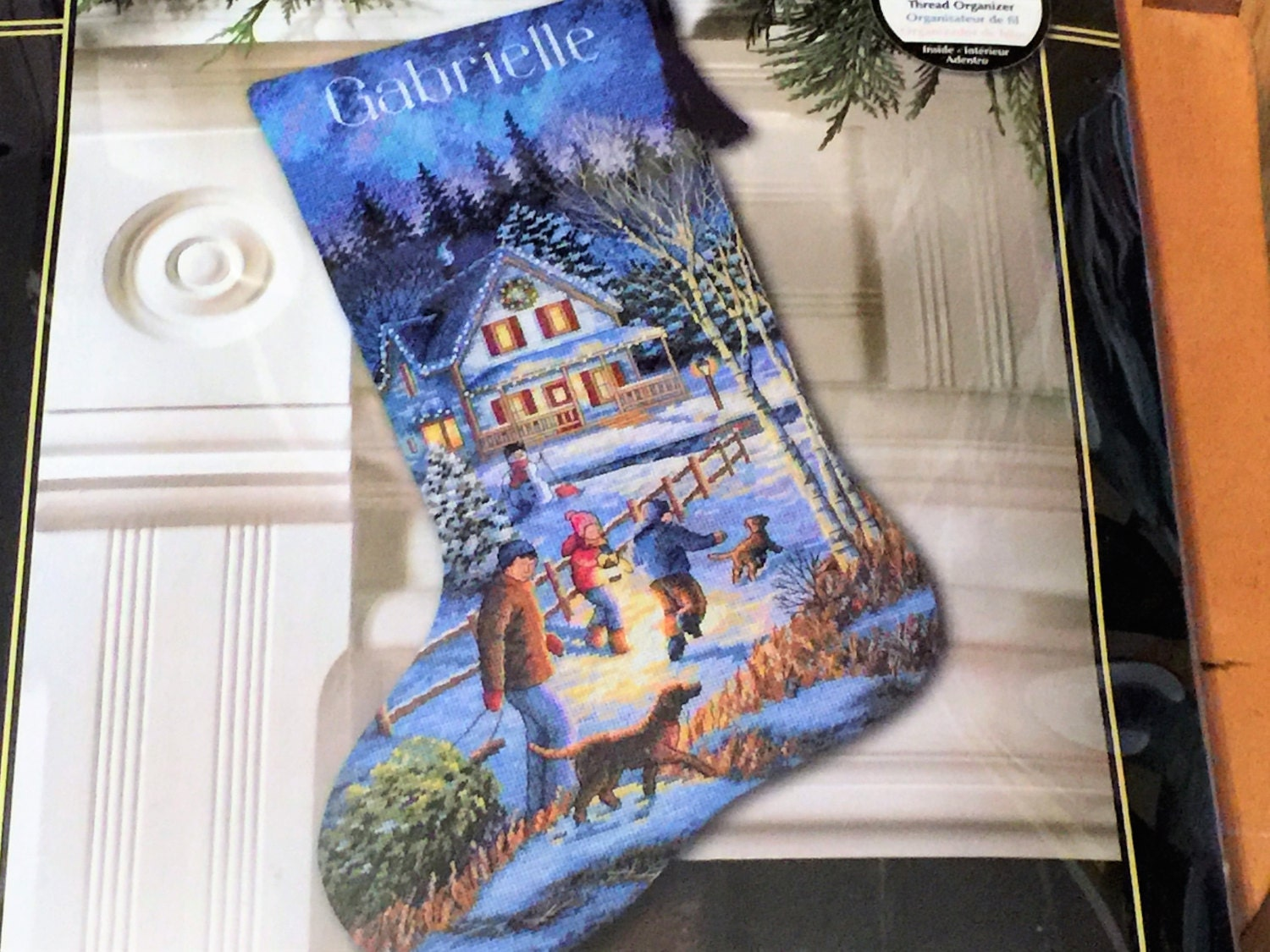 Winter Gathering Christmas Dimensions Counted Cross Stitch Kit