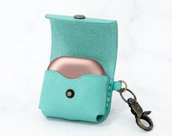 Samsung Galaxy Buds Live Wireless Earbuds Case Keychain Leather Personalized Wireless Earphones Case Leather Gift Wireless Headphone