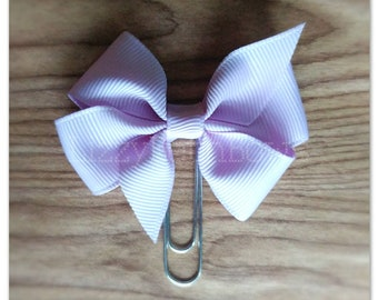 Solid Lavender Bow Planner clip, bookmark, planner bow tie bow clip, bow bookmark, Pinwheel Bow Solids Collection