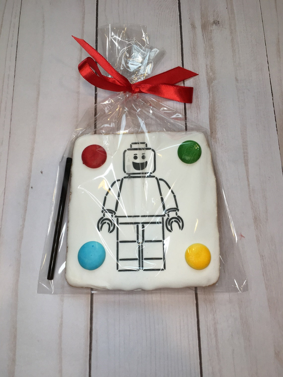 Paint Your Own Lego Cookies Robot Birthday Favors Birthday image 0