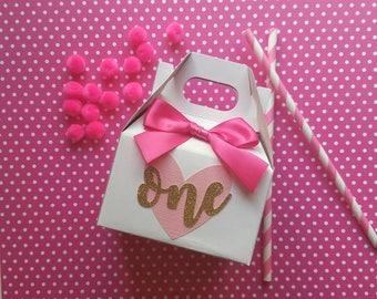 First Birthday Favor Box