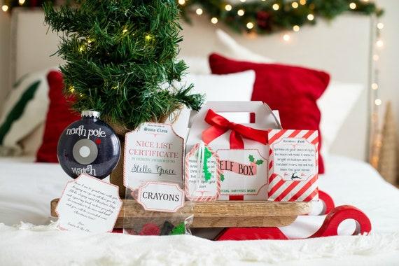 Elf Arrival Kit  Nice List Certificate  Christmas Crayons