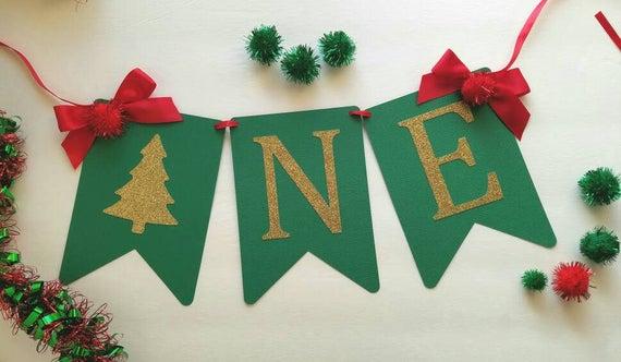 Christmas High Chair Banner
