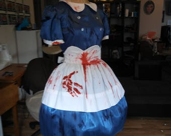 Custom made to order Bioshock dress and apron for Tiah