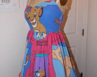 Custom Made to Order Lion King Simba Nala zazu timon pumba  Dress