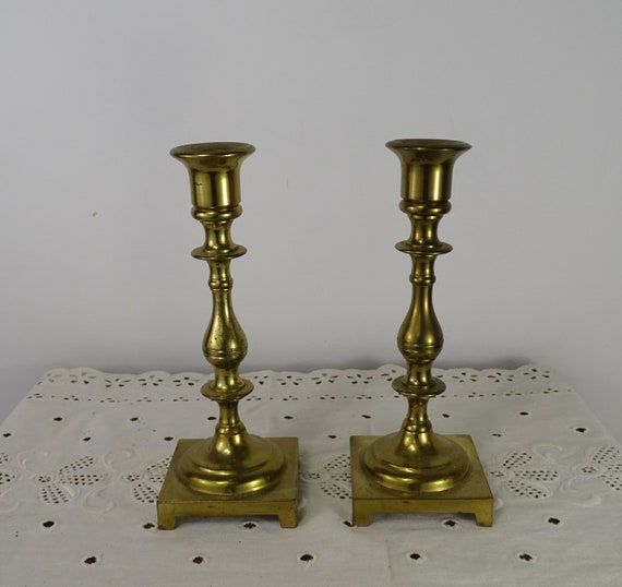 With old candlesticks to do what brass How to