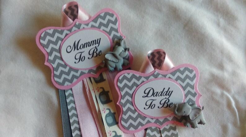 Baby Shower rubans-Maman à être cadeau-à propos de pop-Ruban Nouveau bébé