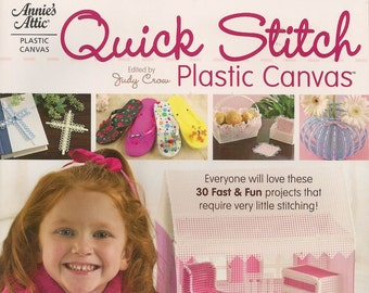 Plastic Canvas Craft Patterns Quick Stitch Plastic Canvas Patterns Books  Annies Attic #841004
