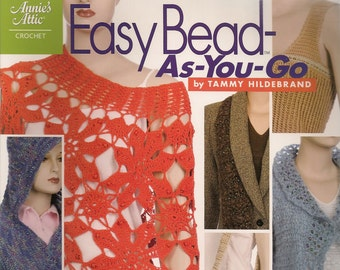 Crochet Patterns Easy Crochet Patterns Crochet How To BookCrochet Patterns Easy Bead As You Go Annie's Attic 11 Crochet Projects