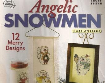 Cross Stitch Patterns,Angelic Snowmen,Candy Cane Mouse Pad,Patriotic Snow Angel,Angel Cross Stitch,Snowmen Cross stitch patterns