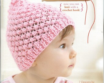 Baby Beanies Made With The Knook Leisure Arts