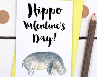 Happy Palentine S Day Card Card For Friend On Etsy